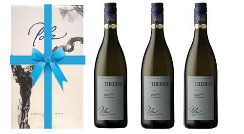 Sauvignon Blanc  Therese 2017 + 3er Geschenkskarton