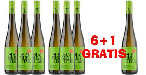 Potzinger Summertime 2018 Weinpaket 6 +1 Gratis
