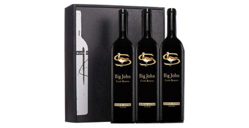 Big John Reserve 2017  mit Original 3er Geschenksholzkiste