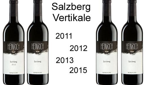 Salzberg Vertikal Paket  2011/2012/2013/2015 + Original Salzberg Holzkiste