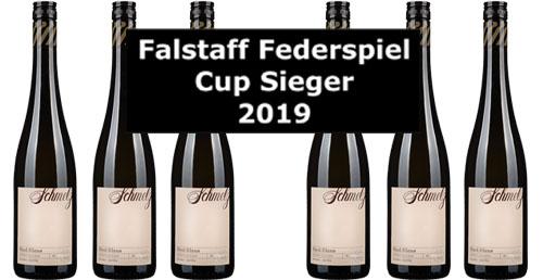 Falstaff Federspiel-Cup-Sieger Schmelz 2019 im 6er Pack