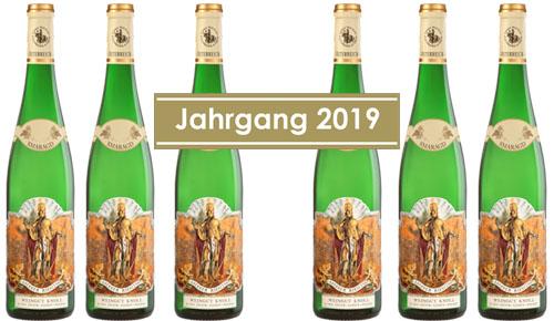 Riesling Federspiel Loibenberg 2019 Knoll im 6er Paket