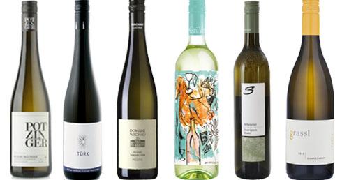 6 Topweine - Weiss  aus Österreich mit 15% Ersparnis