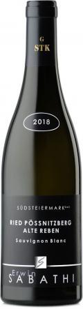 Sauvignon Blanc Ried Pössnitzberg Alte Reben Große STK 2018