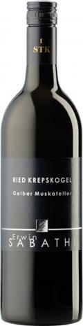 Gelber Muskateller Krepskogel Erste STK Lage 2017