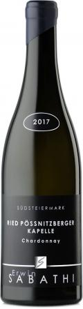 Chardonnay  Ried Pössnitzberger Kapelle 2017